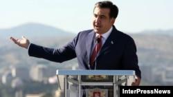 Грузия Президенти Михаил Саакашвили.