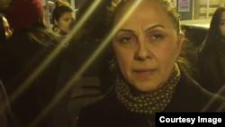 Azerbaijan. Baku. Shura Amiraslanova - Giyas Ibrahimov's mother