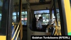 Общественный транспорт в Бишкеке, 25 мая, 2020 (Иллюстративное фото)
