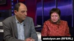 Իրավապաշտպաններ Ժաննա Ալեքսանյան, Ավետիք Իշխանյան, արխիվ