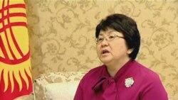 Roza Otunbaeva On Her Talks WIth Obama
