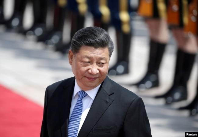 Си Цзиньпин. Сентябрь 2021 года