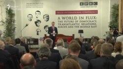"""""""მსოფლიო ქაოსში: დემოკრატიის, ევროპის და ახლო აღმოსავლეთის მომავალი"""""""