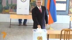 Ermənistanda prezident seçkiləri...