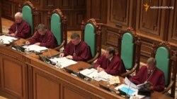 Конституційний суд перейшов до децентралізації, незважаючи на аварію головуючого
