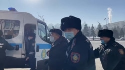 Protesters Detained In Kazakhstan Amid Parliamentary Elections