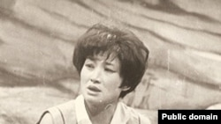"Фарида Шәріпова М.Байджиевтің ""Жекпе-жек"" спектаклінде Нази ролінде. 1981 жыл."