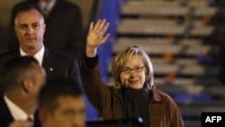 Hillary Clinton u Sarajevu, 12.oktobra 2010
