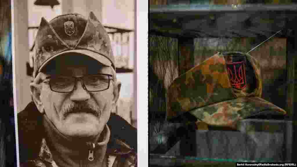 «Сивий». Історія про долю добровольного батальйону «ОУН», що діє в зоні АТО з літа 2014 року. До експозиції заступник командира батальону «Сивий» передав мазепинку, в якій його було поранено 8 січня 2015 року під час оборони метеостанції на території Донецького аеропорту