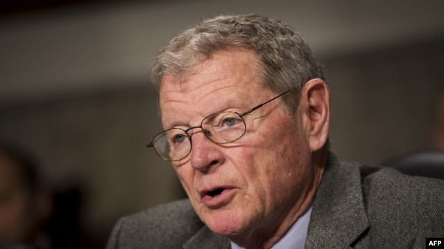 U.S. Senator James Inhofe (file photo)
