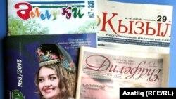 Башкортстанда чыгучы татар басмалары