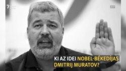 Kicsoda Dmitrij Muratov, az idei Nobel-békedíjas?
