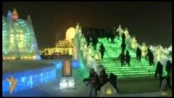 OzodЕrmak:Хитойда муз шаҳри барпо этилди