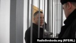Cудове засідання у справі звинувачення Андрія Слюсарчука, відомого як «Доктор Пі», Львів, 14 березня 2013 року