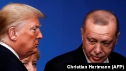 Donal Trump și Recep Erdogan, imagine de arhivă.