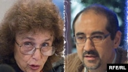 کیان تاجبخش و هاله اسفندیاری هر دو در بازداشت هستند و به جاسوسی متهم شده اند.