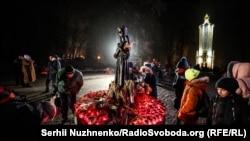 Вшанування пам'яті жертв Голодомору в Києві, 24 листопада 2018 року