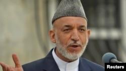 Hamid Karzai - conferință de presă înainte de alegeri