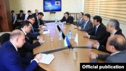 Ўзбекистон Ташқи миграция агентлигида Япония делегацияси билан учрашув