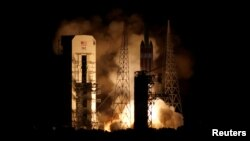 Запуск ракеты-носьбіта зсонечным зондам Parker