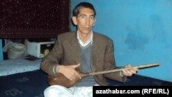 """Asly Kabuldan bolan """"Şirwan"""" lakamly şahyr hem bagşy Arna Juma."""