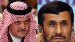 آقای احمدی نژاد گفته است که شاید حرف های سعود الفیصل از روی عصبانیت باشد.