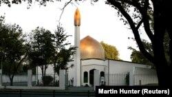 نمایی از مسجد نور در شهر کرایستچرچ نیوزیلند