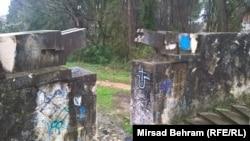 Mostar: Skrnavljenje Partizanskog spomen-groblja