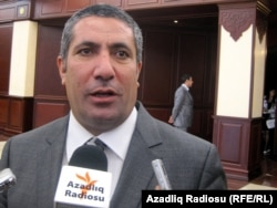 Azerbaijani lawmaker Siyavush Novruzov (file photo)