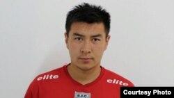 """Бразилияның """"Ботафого"""" командасында ойнайтын 19 жастағы қазақ футболшысы Рауан Сариев. (Сурет спортшының жеке мұрағаттан алынды)."""