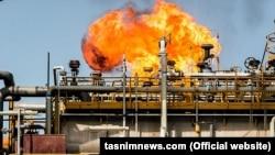 سکوی نفتی بهرگانسر در خلیج فارس