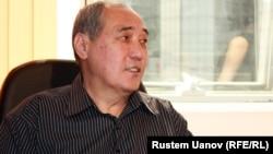Қазақстан футбол федерациясының алғашқы президенті Құралбек Ордабаев.