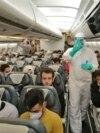 """Салон лайнера иранской авиакомпании """"Махан"""". Иллюстративное фото"""