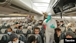 Iranian Flight Evacuates Students from China's Wuhan TEHRAN – Dozens of Iranian students were flown back to the country by a Mahan Airlines plane from the Chinese city of Wuhan, the epicenter of a coronavirus outbreak. February, 05, 2020