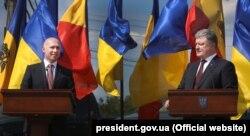 Pavel Filip și Petro Poroșenko