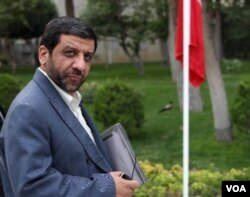 Former head of Iranian state television Ezzatollah Zarghami.