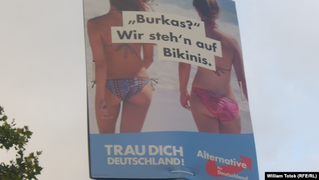 Antimigracijski i ksenofobni plakati AfD-a, Berlin
