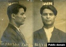 Тюремное фото Амди Гирайбая