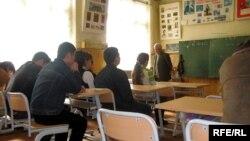 Azerbaijan – A secondary school in Mashtaga settlement, May2008