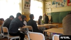 Azerbaijan – A secondary school in Mashtaga settlement, May2008