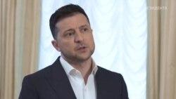 Зеленський про перебіг засідання РНБО і майбутні зустрічі з Макроном і Меркель у Парижі (відео)