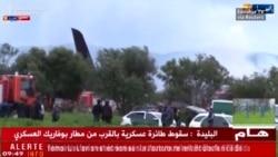Algerian Military Plane Crash Kills More Than 250