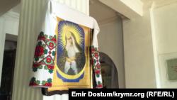 Ікона в Кафедральному соборі святих рівноапостольних князя Володимира і княгині Ольги УПЦ КП, Сімферополь