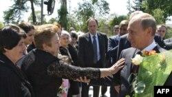 Владимир Путин приехал подтвердить прошлогоднее признание