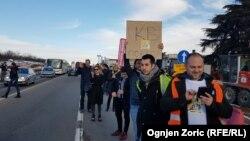 Učesnici 'Ibarskog marša' stigli u Beograd