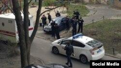Олесь Бузина атылган жер. 16-апрель, 2015-жыл.