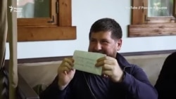 Тотица яьккхинчу видеох совгIат кхаьчна Кадыровна