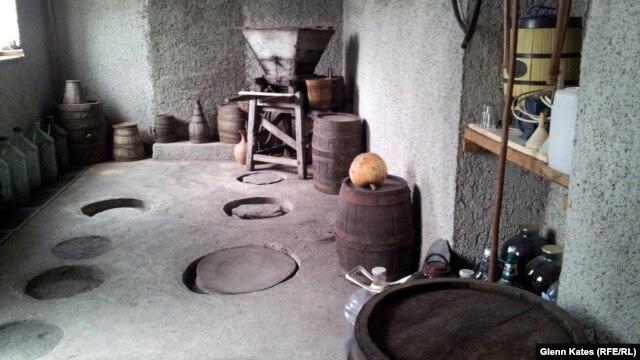 Four generations of the Nikolaishvili family have made wine in Kakheti.