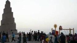 أجواء العيد في سامراء.