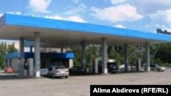 Автозаправочная станция в Актобе.